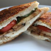 Eggplant-Parm Grilled Cheese