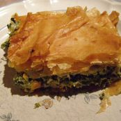Spinach/cheese pie