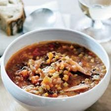 Lentil Soup with Smoked Turkey