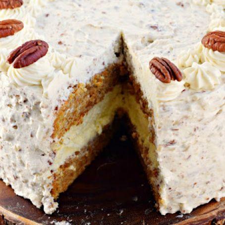 Carrot Cake Cheesecake Cake Recipe 4 5 5