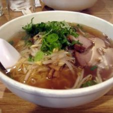 Japanese Pork and Ramen Soup