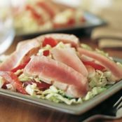Seared Tuna with Asian Slaw