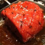 Turkey Ham With Marmalade Glaze