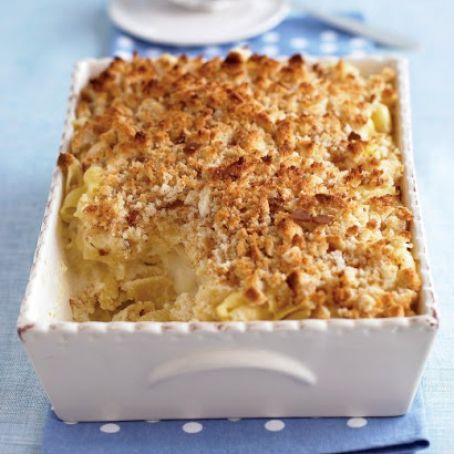Macaroni and Three Cheeses