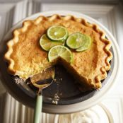 Lime Chess Pie