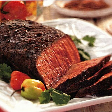 EASY SPICE RUBBED LONDON BROIL