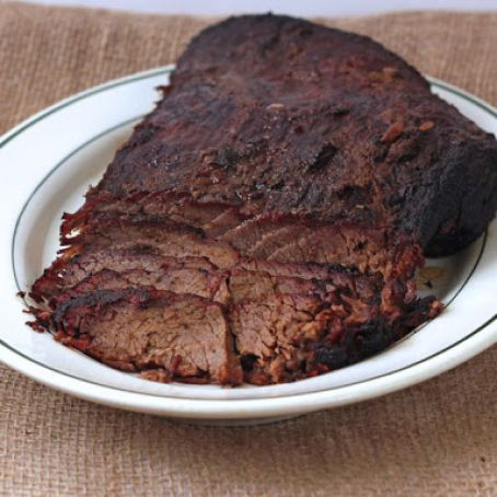Dr. Pepper Smoked Brisket