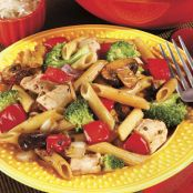 Chicken and Vegetables with Penne
