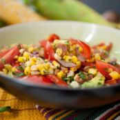 Pan-Roasted Corn and Tomato Salad