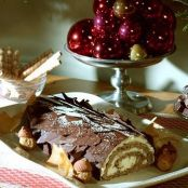 Walnut Orange Buche de Noel