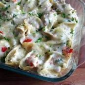 Crab Stuffed Shells