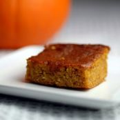 Baked:  Bars: (Paleo) Pumpkin Bars