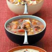 Beef Soup in a Hurry