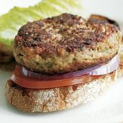 Turkey & White Bean Burgers