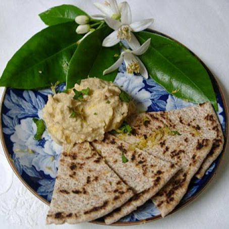 Hummus Dip Scented with Earthy Cumin