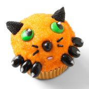 Creepy Kitten Cupcakes