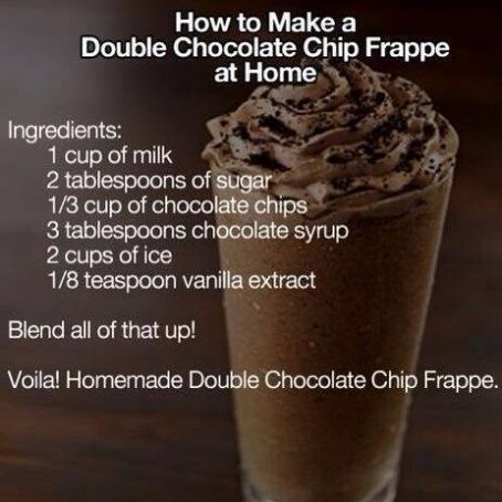 Double Chocolate Chip Frappe Recipe - (4 5/5)