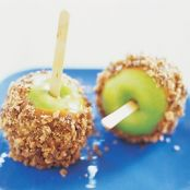 Candy-Coated Caramel Apples
