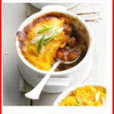 Squash and sausage shepherd's pie