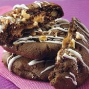 Caramel-Filled Chocolate Cookies