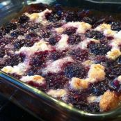 Homemade Kentucky Blackberry Cobbler