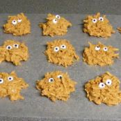 Monster Haystacks (Halloween treats)