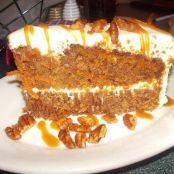 Carrot Cake from Wofgang Puck Cafe Downtown Disney