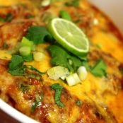Cheesy Salsa Lime Chicken