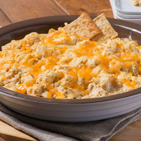 Creamy Chicken Enchilada Dip