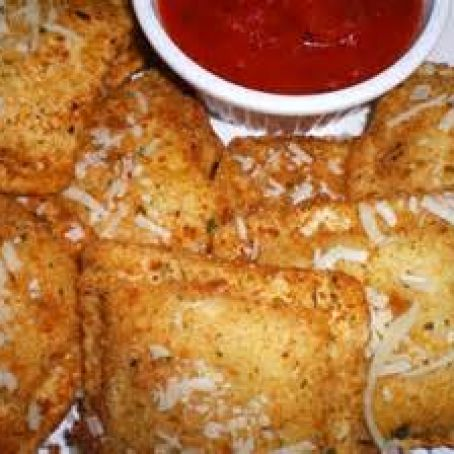Air Fryer Fried Ravioli