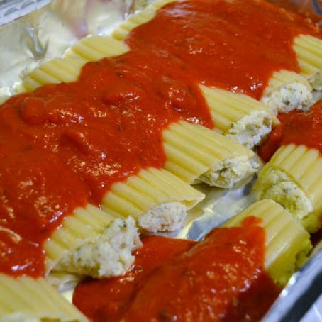 Ronzoni Cheese Filled Manicotti