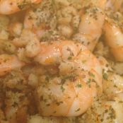 Shrimp with Spicy Breadcrumbs