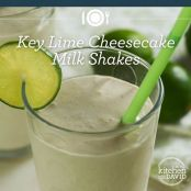 Key Lime Cheesecake Milk Shakes~Vitamix