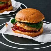 Chicken Parm Burgers