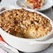 Baked Orange French Toast with Almond Crumble