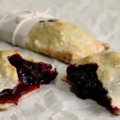 Olallieberry Iced Hand Pies (& Blitz Puff Pastry Dough)
