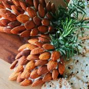 Holiday Pine Cone Cheese Ball