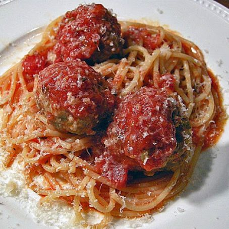 Out of this World Spaghetti and Meatballs*****