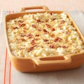 Five Cheese Macaroni with Prosciutto Bits