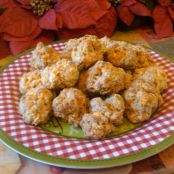 Sage And Red Pepper Sausage Balls