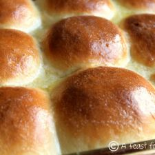 60-Minute Dinner Rolls  (Yes,fresh baked  rolls in one hour!)