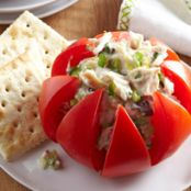 Festive Tuna-Stuffed Tomatoes