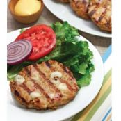 Low Carb Chicken Cordon Bleu Burgers