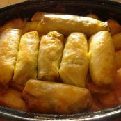 Bacon and Rice Cabbage Rolls