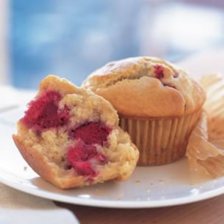 Easy Raspberry-Lemon Muffins