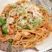 Lobster Pasta in Cream Sauce