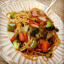 Curry Veggie Noodles