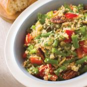 Quinoa, Green Bean and Tomato Salad