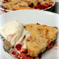 Easy Cranberry & Apple Cake (Ina Garten)