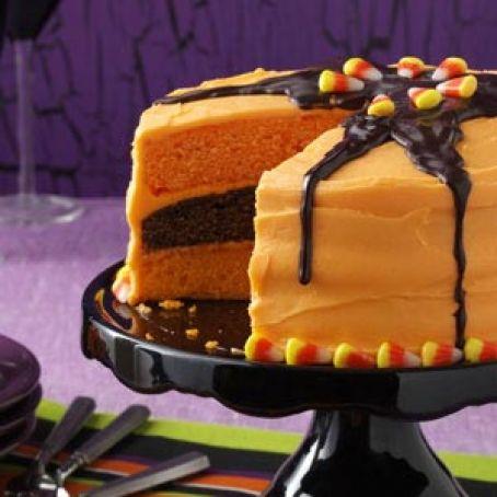 Halloween Layer Cake Recipe 4 4 5